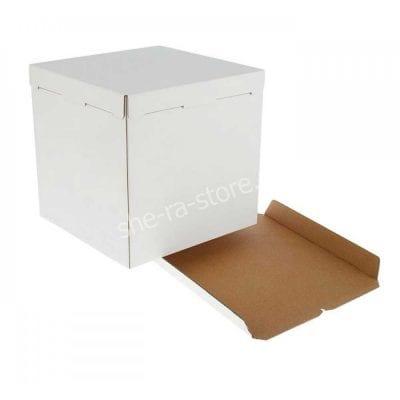Коробка для торта усиленная 42/42/45 см