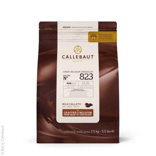 Шоколад молочный Callebaut Select 823, Бельгия