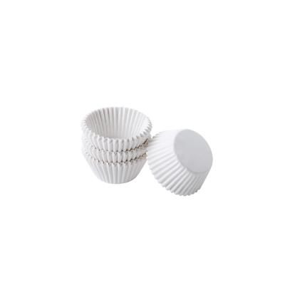 Капсулы для конфет и кейкпопсов белые 25 шт