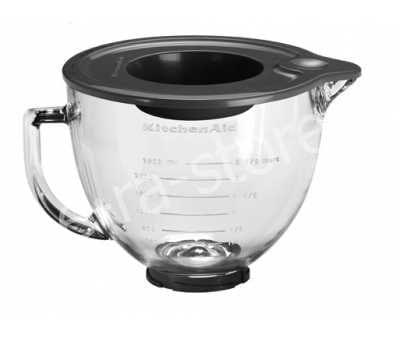 Чаша стеклянная сменная для миксера KitchenAid ARTISAN 4,8