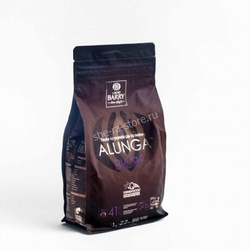 Шоколад молочный Cacao Barry Alunga