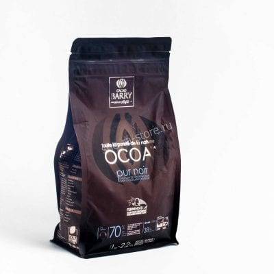 Шоколад горький Cacao Barry Ocoa