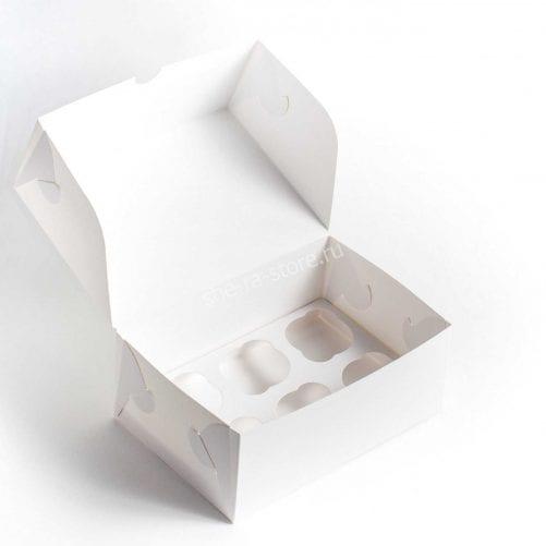 Коробка для капкейков под 6 шт