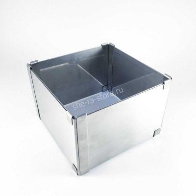 Раздвижная форма для выпечки квадратная (высота 10см)