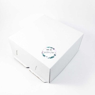 Коробка для торта 21/21/10 см