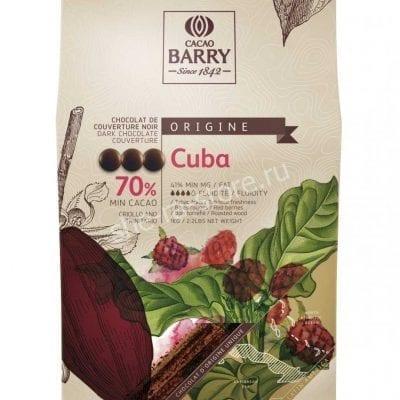 Шоколад горький Cacao Barry Cuba