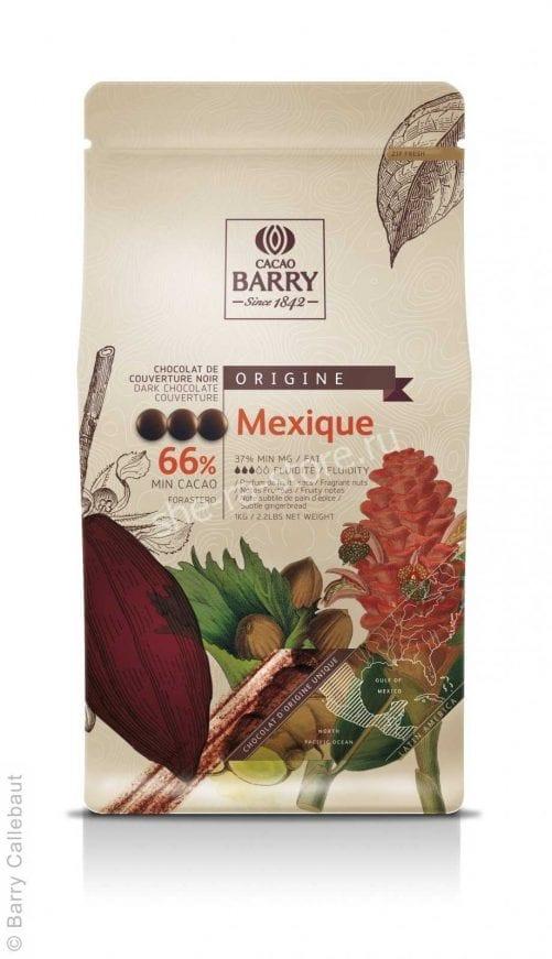 Шоколад темный Cacao Barry Mexique