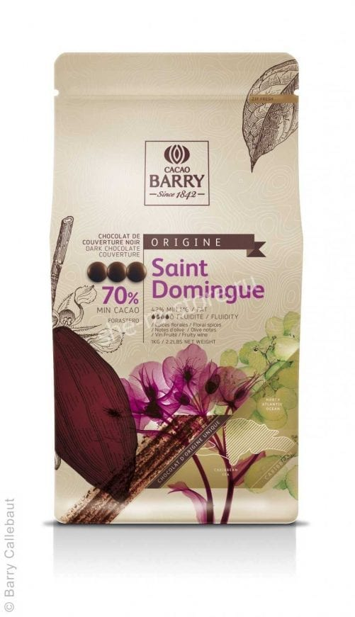 Шоколад горький Cacao Barry Saint Dominique