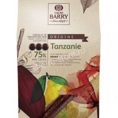 Шоколад горький Cacao Barry Tanzanie