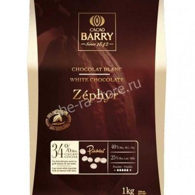 Шоколад белый Cacao Barry Zephyr Caramel, Бельгия