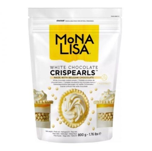 Жемчужины из тёмного шоколада с хрустящим слоем внутри (MoNA LISA Crispearls Dark)