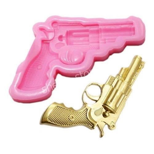 """Молд силиконовый """"Пистолет, револьвер"""""""