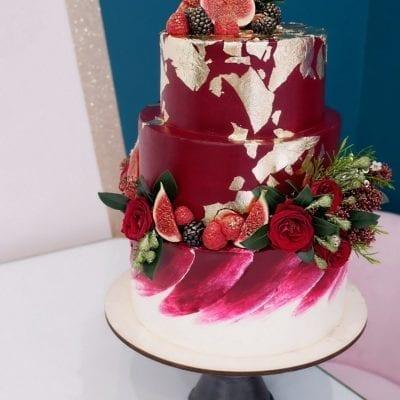 Пищевое золото в декоре тортов