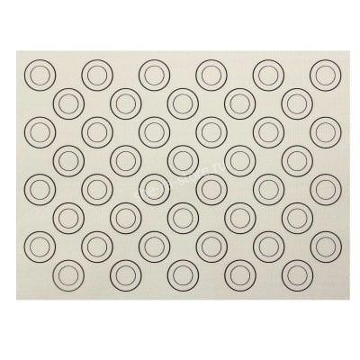 Силиконовый коврик для макаронс армированный (40см х 30см)