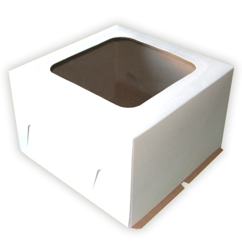 Коробка для торта 24/24/12 с окном