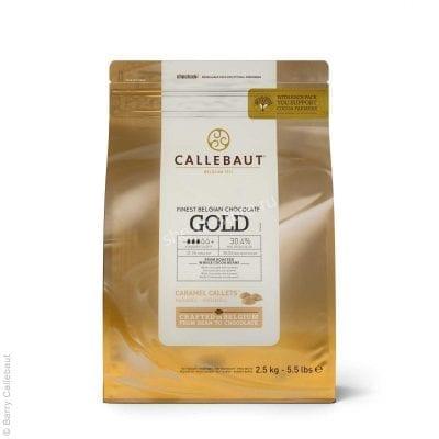 Шоколад карамельный Callebaut Gold, Бельгия