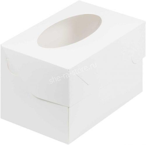 коробка под 2 капкейка
