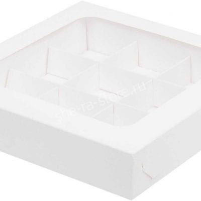 коробка на 9 конфет