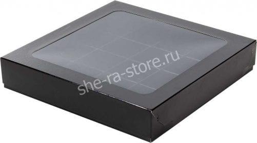 чёрная коробка для конфет