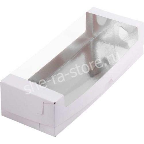 коробка под рулет с окном