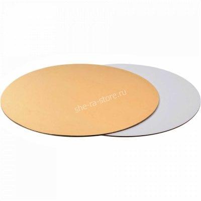 золотая подложка под торт