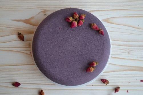 Шоколадный велюр Фиолетовый