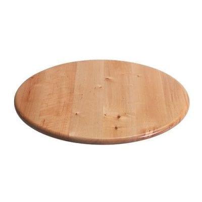 Поворотный столик деревянный (вращающаяся подставка для торта) D=38
