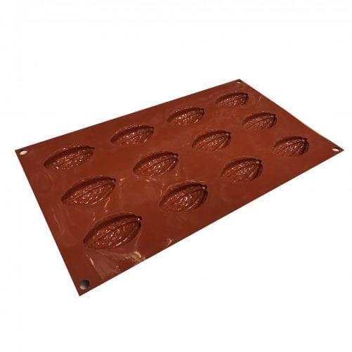 Силиконовая форма для муссовых пирожных Какао-боб