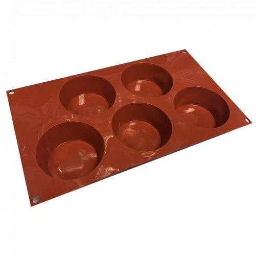 Силиконовая форма для муссовых пирожных Маффин