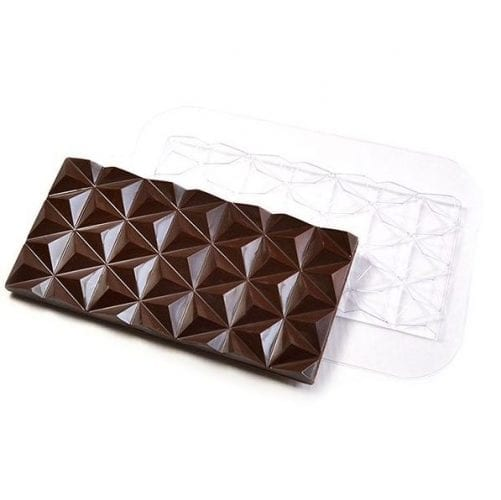 "Форма для шоколада плитка ""Пирамидки"""