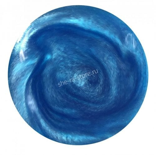 Кандурин Голубой топаз (пищевой глиттер, шиммер)
