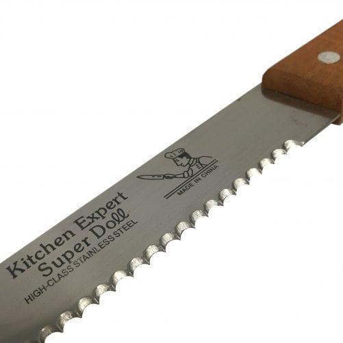 Нож кондитерский с зубцами 30см