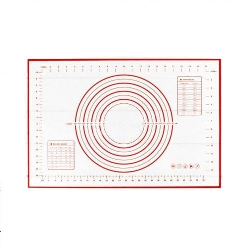 Силиконовый коврик армированный с разметкой  (30см х 40см)