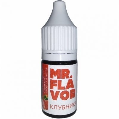 Пищевой ароматизатор mr Flavor Клубника10мл