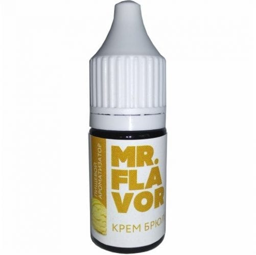 Пищевой ароматизатор mr Flavor Крем брюле 10мл
