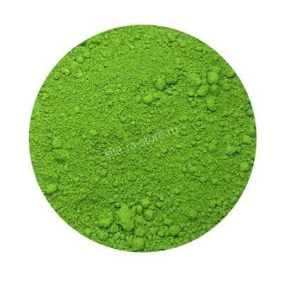 Зелёный жирорастворимый краситель для шоколада