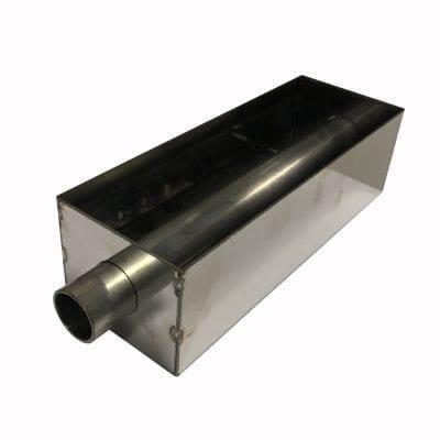 Форма для выпечки кекса с отверстием для начинки, нержавеющая сталь