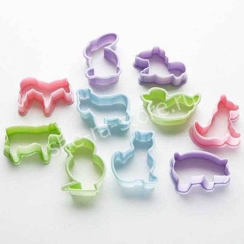 """Набор форм для печенья """"Зоопарк"""""""
