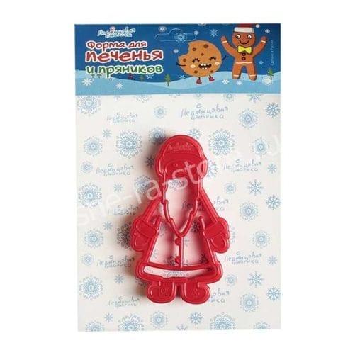 """Форма для печенья """"Дед мороз"""""""