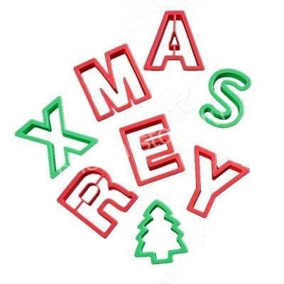 "Набор форм для печенья ""Merry Christmas"", 8шт"