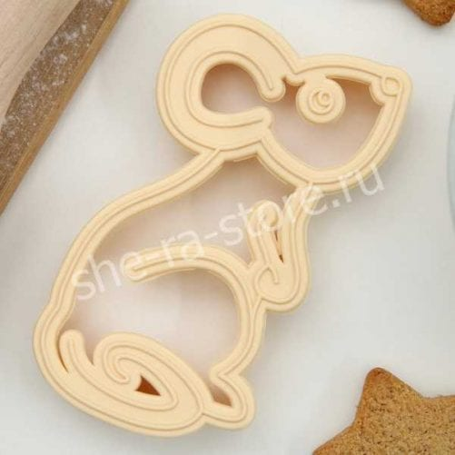 """Форма для печенья и пряников """"Мышка"""""""
