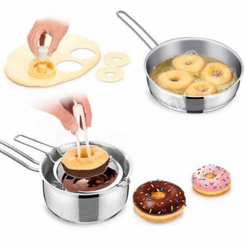 Набор для изготовления пончиков с щипцами