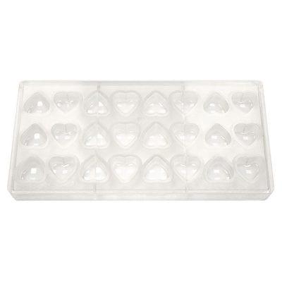 """Форма для конфет """"Сердце"""" 24 ячейки"""
