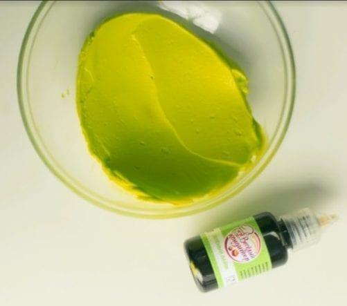 Пищевой жидкий краситель Зелёный лайм
