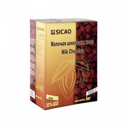 Шоколад молочный SICAO 33% Россия