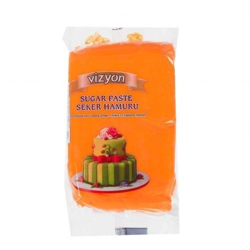 Масса для моделирования (мастика) оранжевая Vyzion