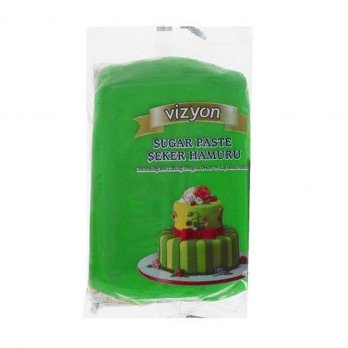 Масса для моделирования (мастика) зелёная Vyzion