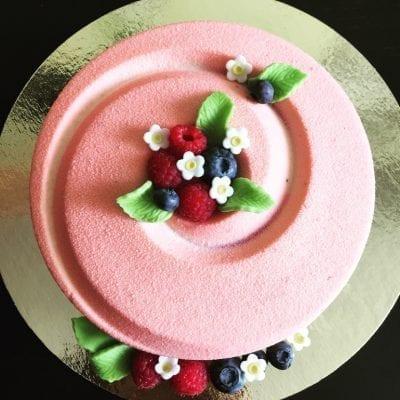 Шоколадный велюр Розовый