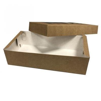 Коробка для макарон с окном