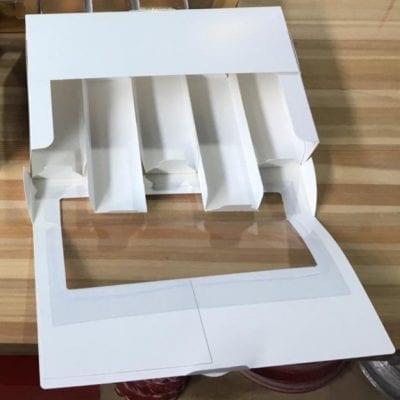 Коробка для эклеров и эскимо